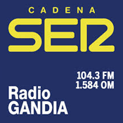 Emisora Cadena SER Radio Gandia 104.3 FM